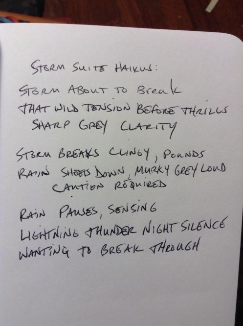 Storm Suite Haiku